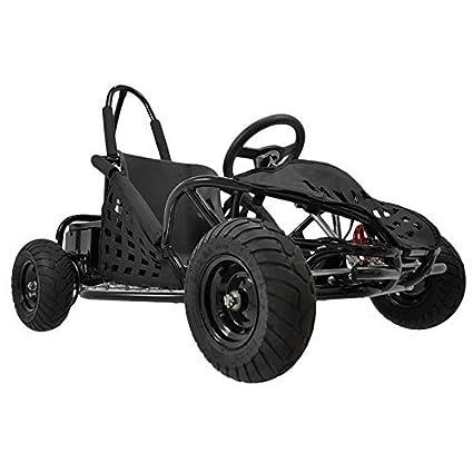 amazon com familygokarts kids electric go kart in black toys games