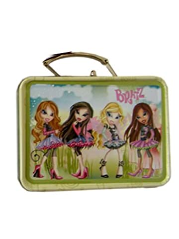 Green Bratz Mini Size Tin Box - Miniature Tin Box - Mini Tin Case