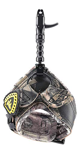 Trufire Smoke Max Archery Bow Release Aid with Foldback Option, Tru-Fire Smoke Max Release, Camo, One Size