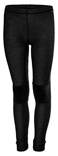 Helly Hansen Junior Lifa Merino Baselayer Pants, Black, Size 10 by Helly Hansen