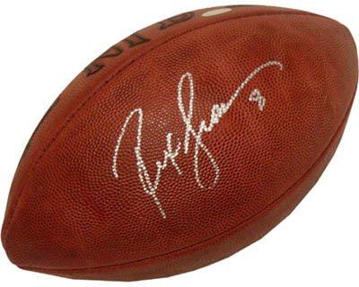 Rex Grossman Autographed Football - Rex Grossman Signed Steiner Football-Official