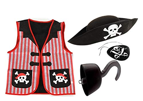 Pirate Role Play Costume Dress up Set