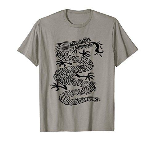 - Chinese Dragon T-Shirt China Mythology Folklore Graphic Tee
