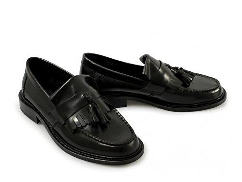 Ikon Polert Menns Sorte Loafers Skinn Dusk Selecta 8 Uk rwB5Eaqr