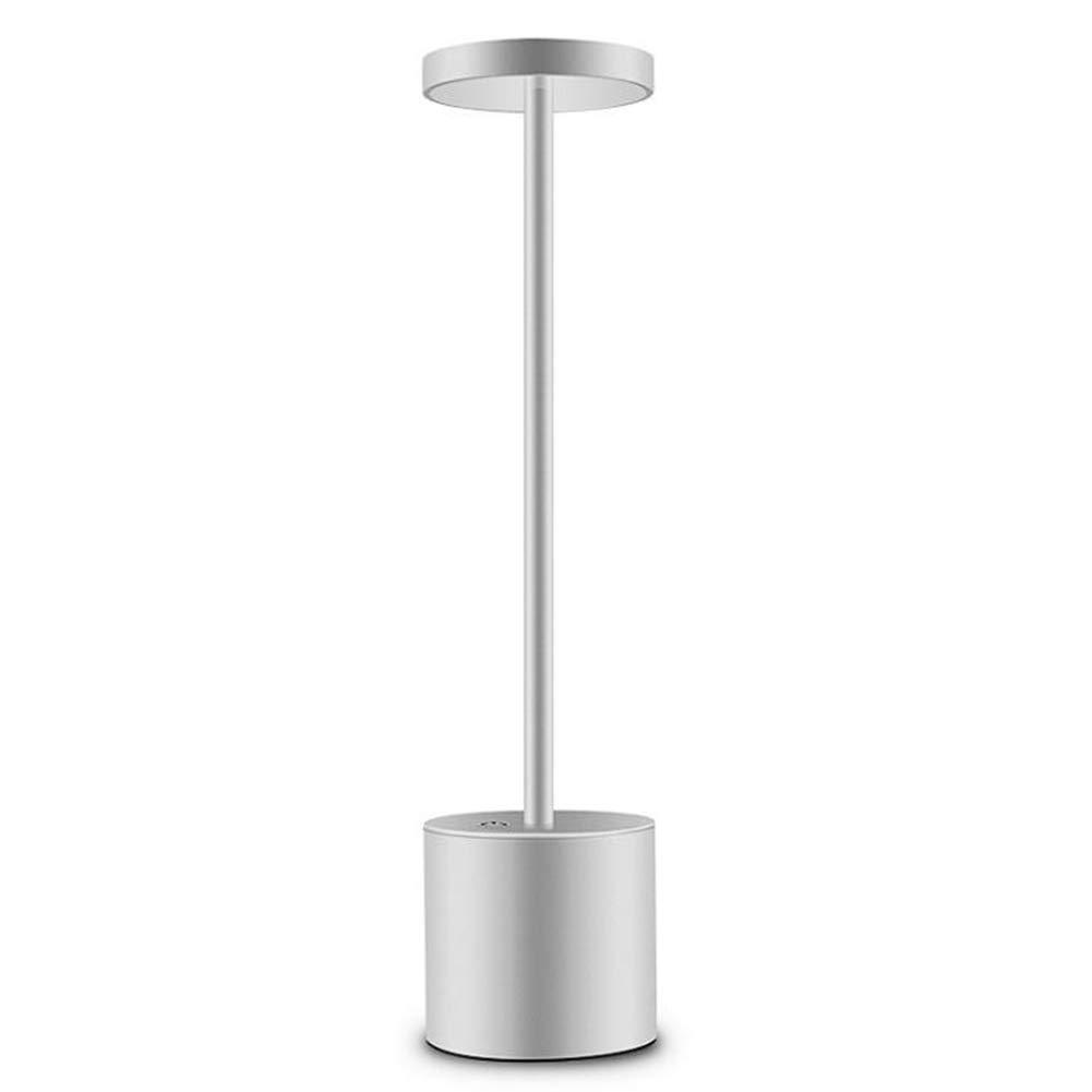 DDLONY LED Schreibtischlampe USB Wiederaufladbar Nachtlicht 2 Helligkeitsstufen Bürolampe Arbeitslampe
