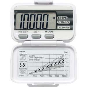 LifeSource Digital Walking Pedometer by A&D Medical