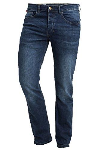 Glory Mens Jeans - Life & Glory Mens Designer Stretch Slim Fit Jeans, 5 Colours (34W x 30L, Midwash)