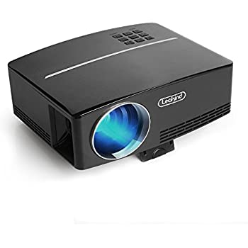 Video Mini Projector Portable HD Support 1080P Home Theater Projectors Quiet HDMI Multimedia Outdoor Movie Night Laptop Game iPhone iPad Smartphone Indoor Kids Room 220lux Typical Peak Brightness