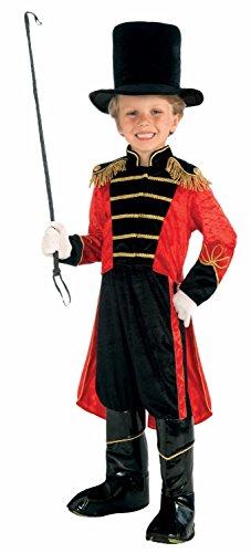 Boys Big Top Ring Master Fancy Dress Costume