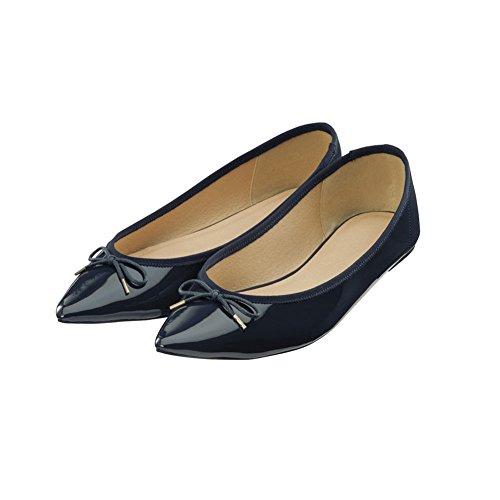 Señora simple D moda Asakuchi manoletinas Puntiagudos zapatos rrxCf4qwd