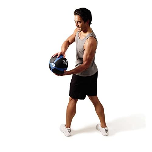 Valeo Medicine Ball With Sturdy Rubber Construction And Textured