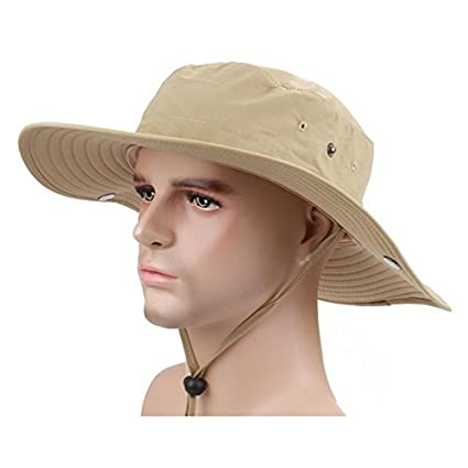 Image Unavailable. Image not available for. Color  Vsace Wide Brim Fishing  Sun Hat for Men UPF ... 44b7617dbbe5
