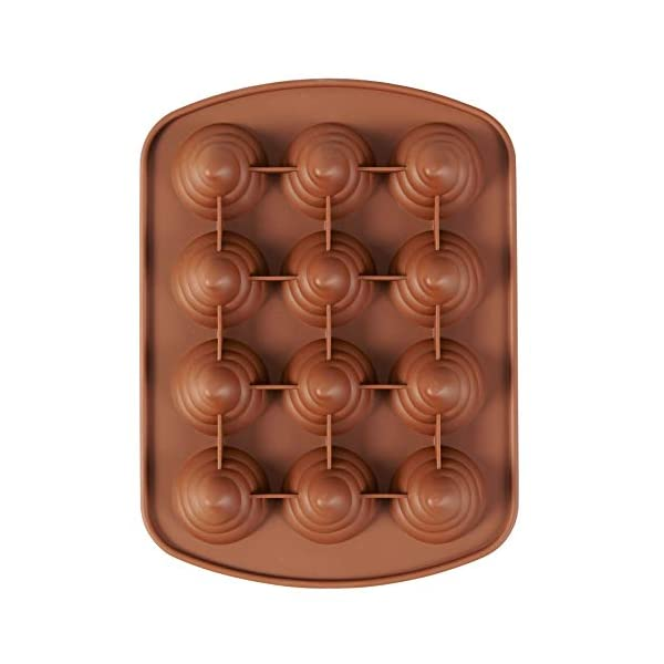ROSANNA PANSINO by Wilton 12-Cavity Silicone Swirl Candy Molds, Multi-pack of 2 8