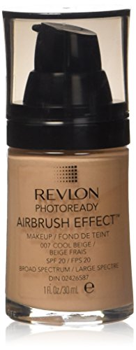 Revlon PhotoReady Airbrush Effect Makeup, Cool Beige