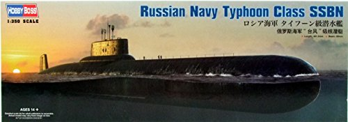 Hobby Boss Russian Navy Typhoon Class SSBN Model - Russian Models