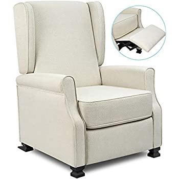 Amazon.com: Homall Single Recliner Chair Padded Seat PU ...
