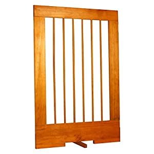Cardinal Gates 4-Panel Tall Pet Gate Extension, Oak Click on image for further info.