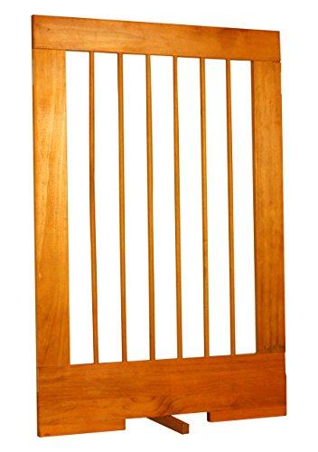 Cardinal Gates 4-Panel Tall Pet Gate Extension, Oak