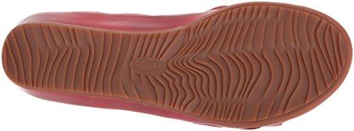 Softwalk Dames Del Rey Mule Rood