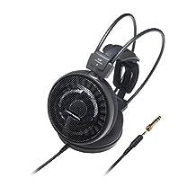 Audio-Technica ATH-AD700X High-Fidelity Audiophile Open-Air Dynamic Headphones - Black