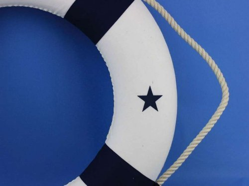 Hampton Nautical Lifering, 20'', Blue by Hampton Nautical (Image #1)
