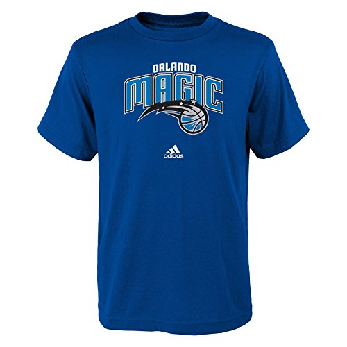 fan products of NBA Orlando Magic Boys Youth Full Primary Logo Short Sleeve Tee, Large (14-16), Royal