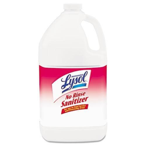 (RECKITT BENCKISER PROFESSIONAL 74389 No Rinse Sanitizer, 1gal Bottle, 4/Carton)