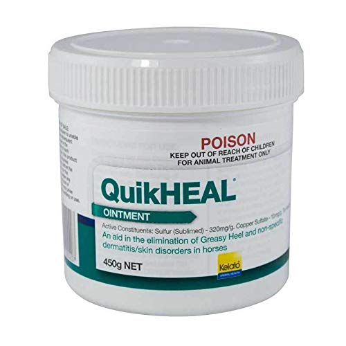 Kelato Quikheal Greasy Heel Ointment 450g (WKQHGHO450)