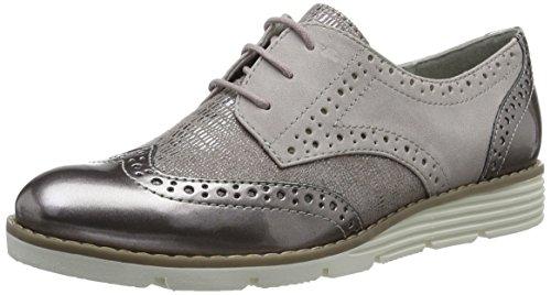 s.Oliver 23623, Zapatos de Vestir para Mujer Rosa (ROSE COMB 592)