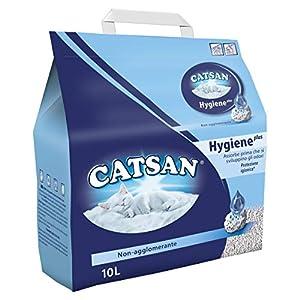 Catsan – Cristales de Arena para la camada, Absorbe los olores Antes de Que desarrollen – 10000 ml