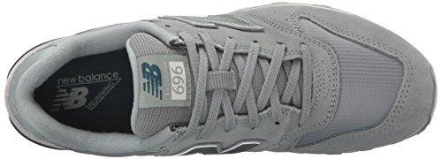 New Compuesto Zapatillas Plateado Seed La 696 nbsp;Limpiar Mink Vida de Estilo de Silver Mujer Balance HwqfwRWZ