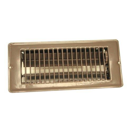 Danco 61790 4-Inch X 10-Inch Steel Floor Register with 7/8-Inch Drop by Danco, Inc. [並行輸入品] B018A3AG3Y