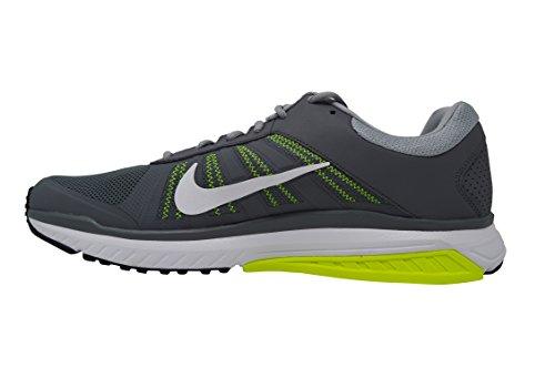 Nike Mens Dart Loopschoen Grijs / Groen / Wit
