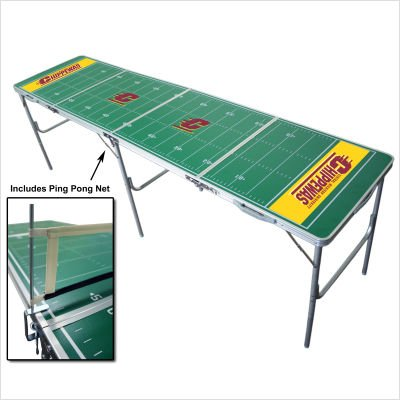 - NCAA College Central Michigan Chippewas Tailgate Ping Pong Table with Net
