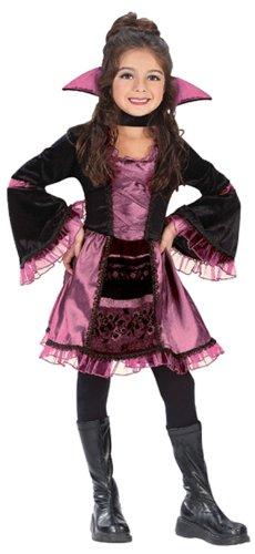 Sassy Victorian Vampiress Costume - Child Small]()