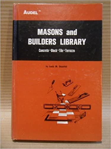 Masons and Builders Library, Vol. 1: Concrete, Block, Tile,