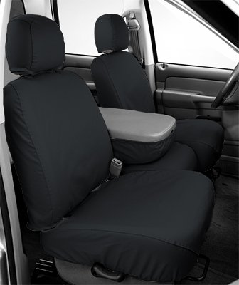 - Covercraft SS2427PCCH SeatSaver Front Row Custom Fit Seat Cover for Select Cadillac/Chevrolet/GMC Models - Polycotton (Charcoal)