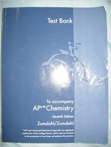 Test bank to accompany ap chemistry amazon books fandeluxe Gallery