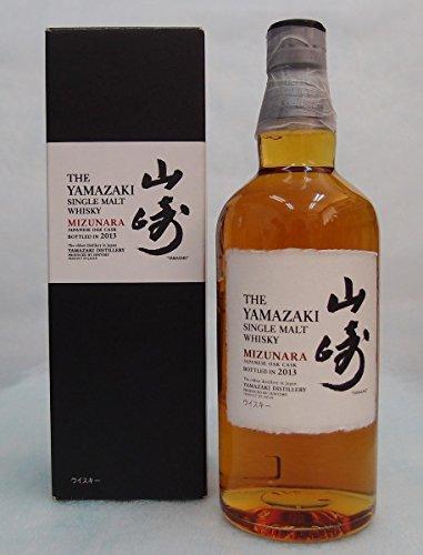 サントリー シングルモルト山崎 ミズナラ 48度 700ml 2013 THE YAMAZAKI SINGLE MALT WHISKY MIZUNARAの商品画像