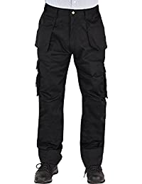 Forever Mens Adults Ruff N Stuff Heavy Duty Cargo Workwear Trousers