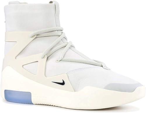 Nike Air Fear Of God 1 Light Bone Ar4237 002 Size 14 Uk