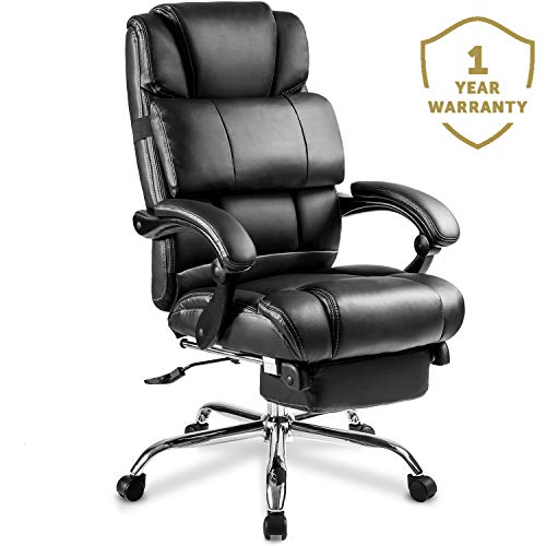 Merax Racing Gaming Chair with Footrest | Ergonomic Office Reclining