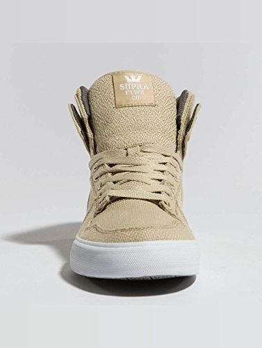Unisex Sneakers S28058 VAIDER Supra Beige Sportive Erwachsene qBAE65W6