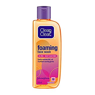 Clean & Clear Foaming Face Wash For All Skin Types India 2020