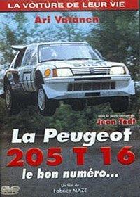 La Voiture de leur vie - La Peugeot 205 T 16, le bon numéro.