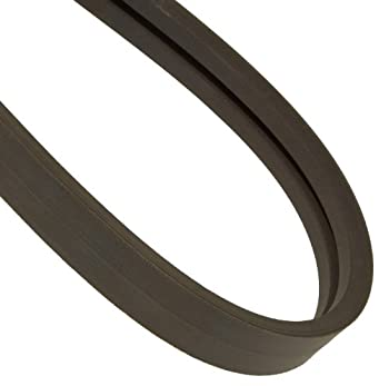 """Continental ContiTech HY-T Torque V-Belt, 2/C112, Banded, 2 Rib, 1.76"""" Width, 0.53"""" Height, 112"""" Approx. Inside Length"""