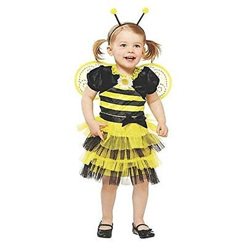[TODDLER BUZZY BEE COSTUME 3T-4T] (Bee Toddler Costumes)