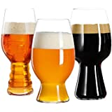 Spiegelau 4991693 Craft Beer Glasses Tasting Kit (Set of 3), Clear