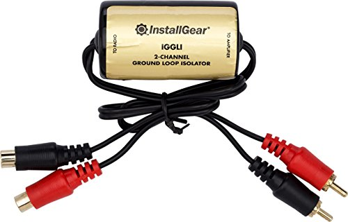 InstallGear Ground Loop Isolator Amp Noise ()