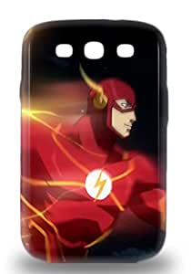 Premium American The Flash Justice League Back Cover Snap On 3D PC Case For Galaxy S3 ( Custom Picture iPhone 6, iPhone 6 PLUS, iPhone 5, iPhone 5S, iPhone 5C, iPhone 4, iPhone 4S,Galaxy S6,Galaxy S5,Galaxy S4,Galaxy S3,Note 3,iPad Mini-Mini 2,iPad Air )